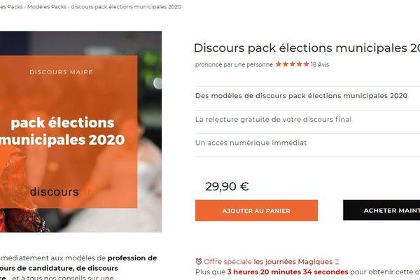 Pack élections municipales 2020