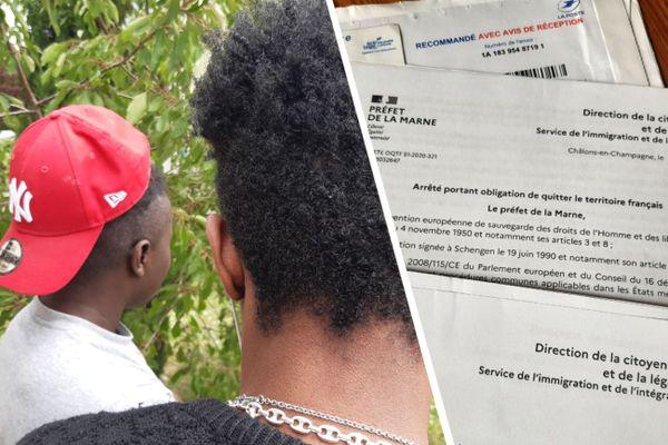 Une dizaine de jeunes étrangers isolés a reçu l'obligation de quitter le territoire. Ils ont désormais 30 jours pour partir. ils sont dans la Marne depuis 4 à 5 ans.