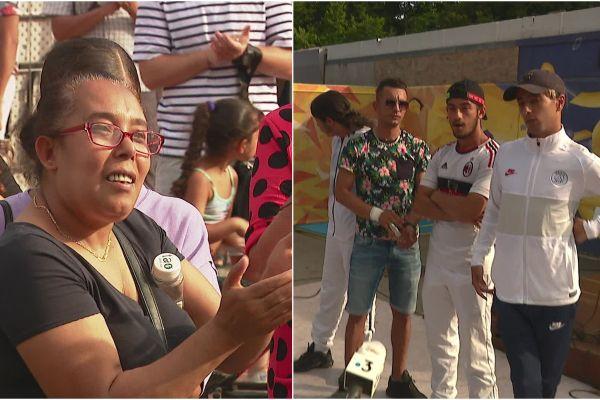 Les habitants de la Villeneuve de Grenoble ont rendu hommage aux jeunes qui ont sauvé deux enfants des flammes.