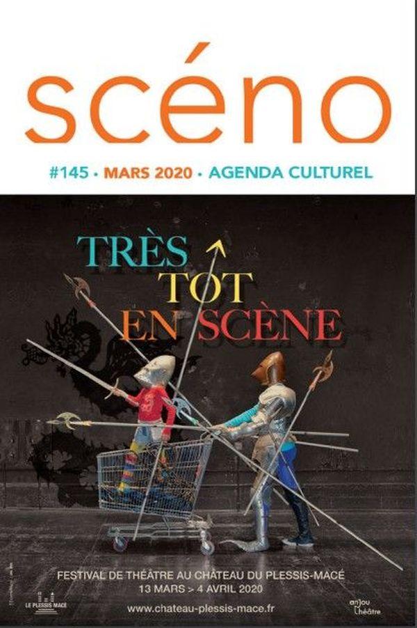 La une du numéro de mars 2020 de Scéno