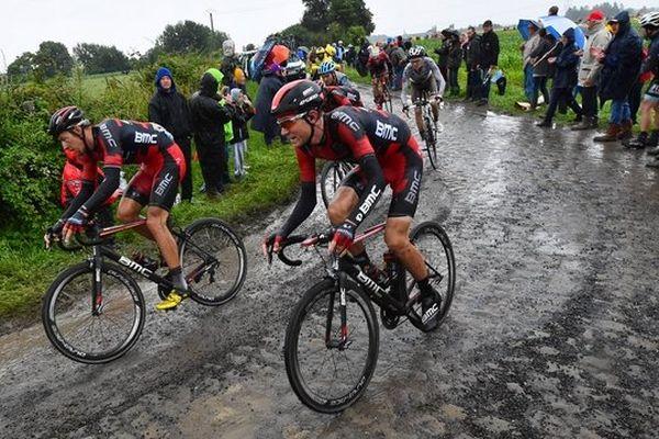 L'étape Ypres-Arenberg lors du Tour de France 2014.