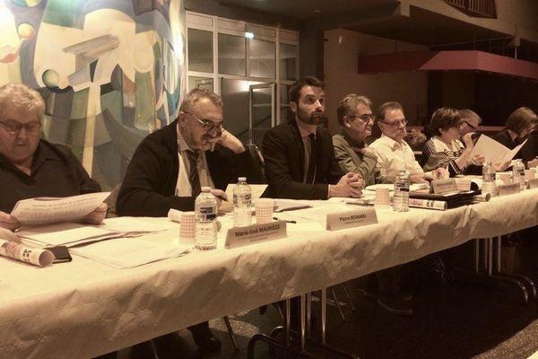 La présentation de l'ASN s'est faite en présence des membres de la CLI et du préfet de Haute-Garonne.
