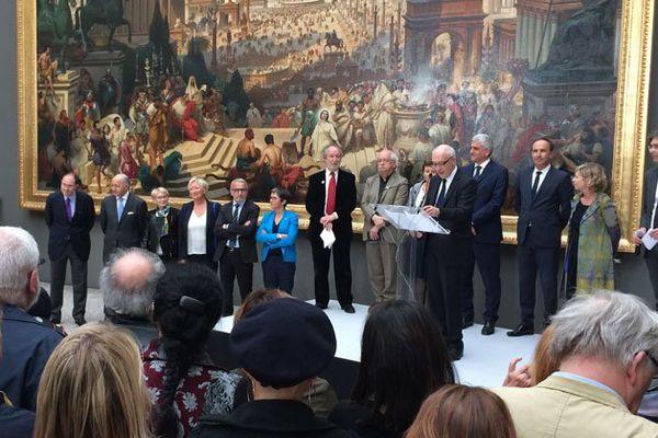Inauguration de la 3e édition du festival Normandie Impressionniste