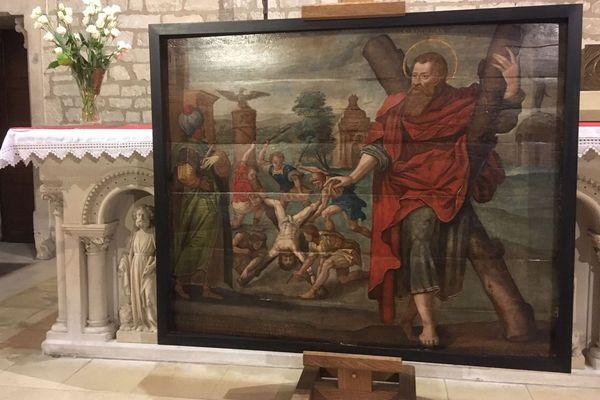 Le martyre de Saint-André, une peinture sur bois exécutée en 1610, a été restaurée en 2019 afin de pouvoir être de nouveau exposée dans l'église d'Ifs.