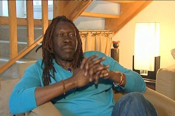 Geoffrey Oryema, chez lui à Ploemeur