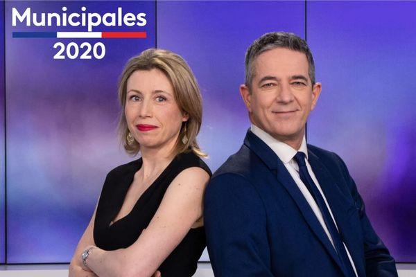 Aurélie Misery et Franck Besnier présenteront la soirée électorale sur France 3 Normandie, édition de Caen
