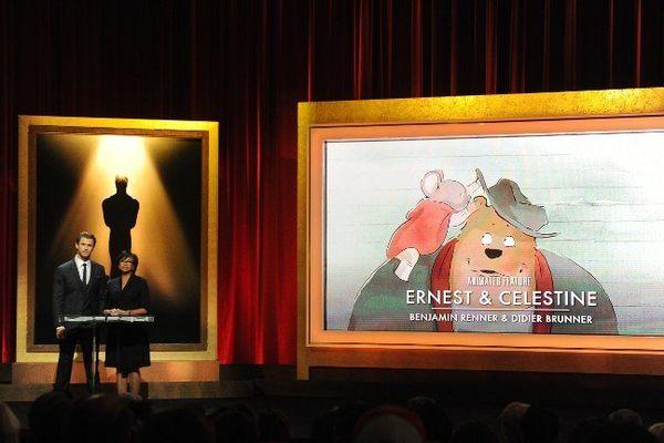 """Le film d'animation """"Ernest et Célestine"""" sélectionné pour les Oscars"""