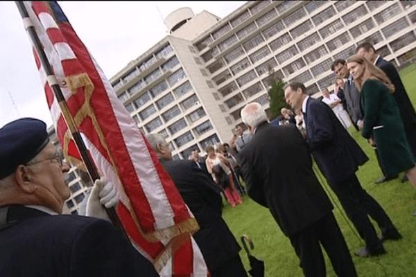 La consul des Etats-Unis était à Saint-Lô cette semaine pour les 60 ans de l'hôpital Memorial