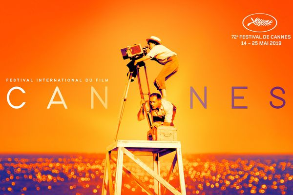 L'affiche du 72e Festival de Cannes a été dévoilée.