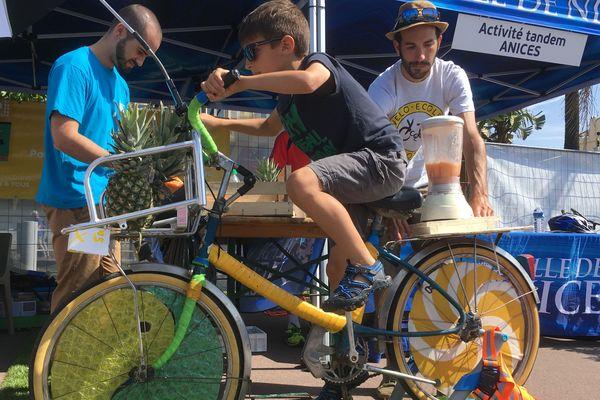 Connaissez-vous le vélo à smoothie ?