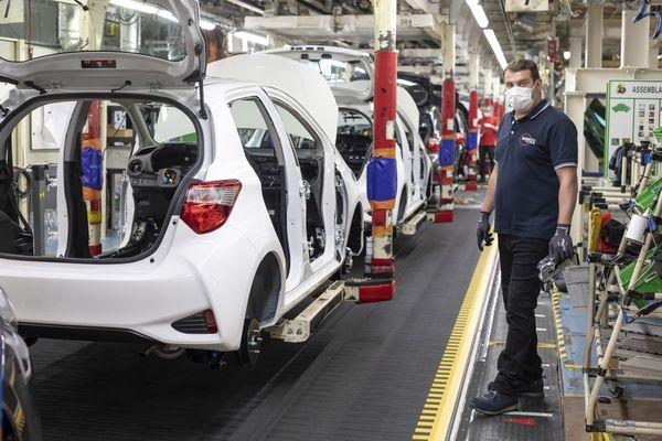 L'usine Toyota, près de Valenciennes.