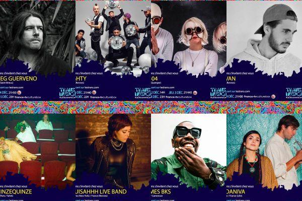 Huit des douze groupes programmés à voir en direct sur Culturebox