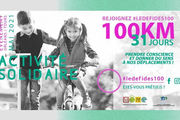 L'affiche du #LEDEFIDES100