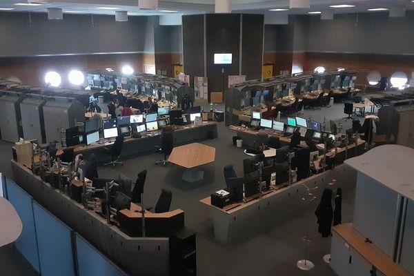 La salle de contrôle du CRNA-Est
