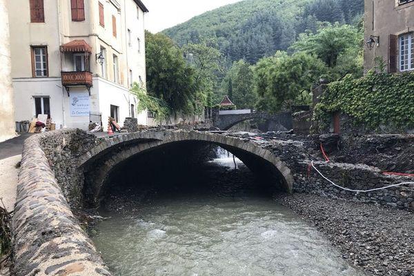 A Valleraugue, les routes, les ponts, les commerces et les habitations ont été dévastés par les eaux - 21 septembre 2020