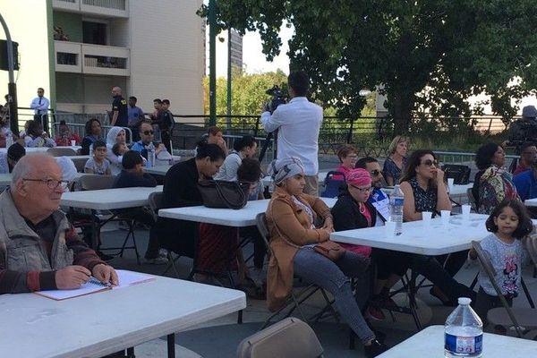 """400 personnes ont participé à la """"Dictée des Cités"""" édition 2018, à Argenteuil."""