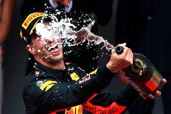 Le champagne sera remplacé par du Proseco sur les podiums de Formule 1