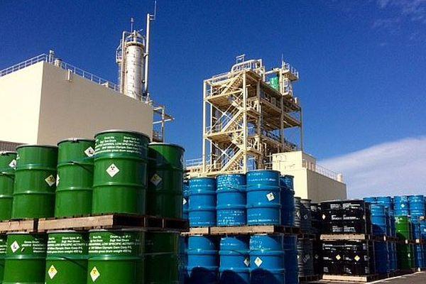 L'uranium nécessaire à toute la production nucléaire française est transformé en gaz à Malvési, près de Narbonne.