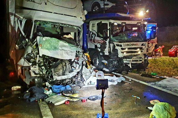 L'accident s'est produit sur la RN83, au niveau d'Arbois.
