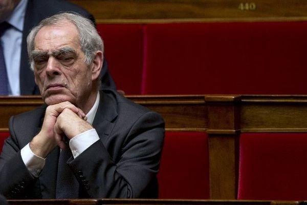 Henri Emmanuelli à l'Assemblée nationale
