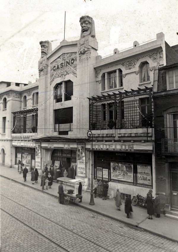 Le cinéma Le Casino à Saint-Quentin en novembre 1937