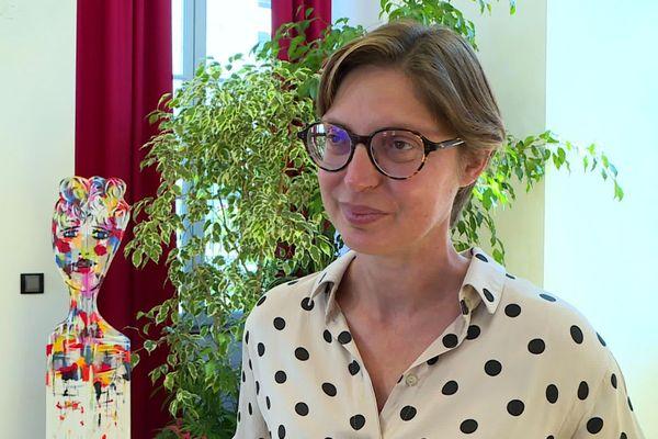 Delphine Labails, maire de Périgueux