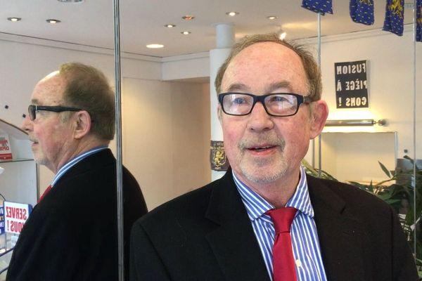 Jean-Philippe Allenbach le 17 avril 2019 à Besançon
