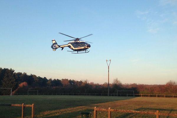 D'important moyens ont été mis en place par la gendarmerie d'Indre-et-Loire