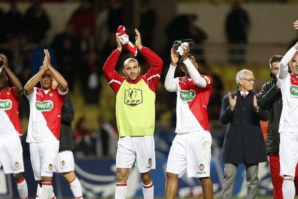Les Monégasques peuvent fêter leur fin de match, ils se qualifient plus qu'aisément pour les demi-finales.