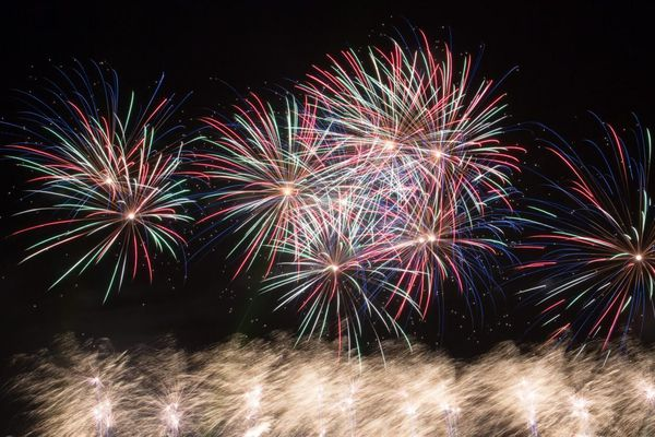 Le grand feu d'artifice de Saint-Cloud, en 2014.