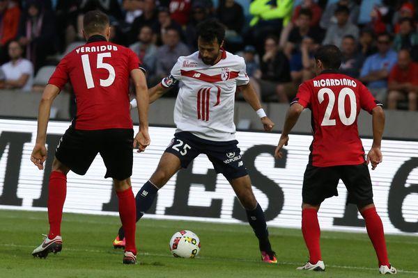 Au match aller au Stadium de Lille, le LOSC avait dû se contenter d'un match nul 1 partout.