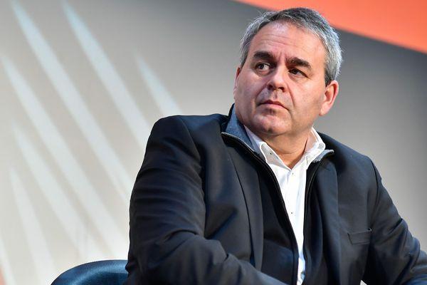 Xavier Bertrand, président de la région Hauts-de-France, a annoncé lundi son départ du parti Les Républicains.