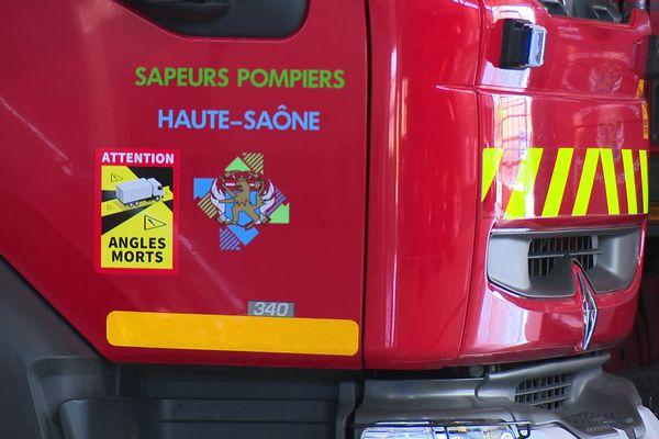 Sapeurs pompiers de Haute-Saône.