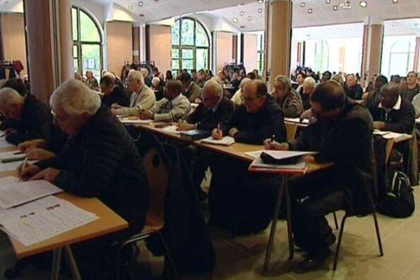 Prêtres réunis à Paray-le-Monial