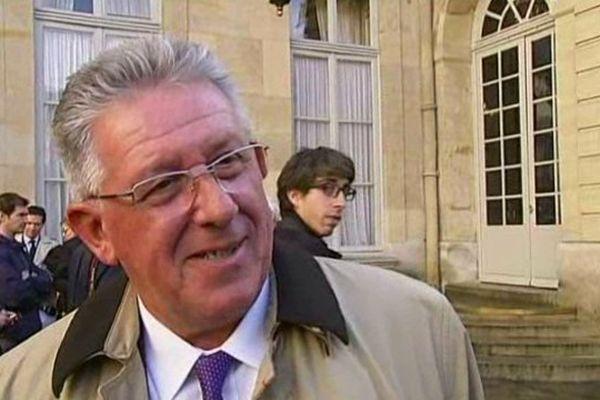 Jean-Yves Gouttebel était à Matignon pour défendre les conseils départementaux, susceptibles de disparaître à l'horizon 2021.