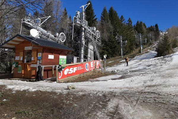 La station de Turini Camp d'Argent, dispose d'un domaine skiable de 3 km