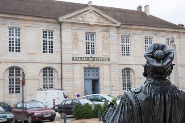 Le palais de justice de Vesoul où se tient la cour d'assises
