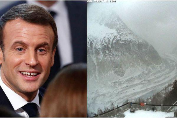 Emmanuel Macron est attendu sur la Mer de Glace ce jeudi matin.