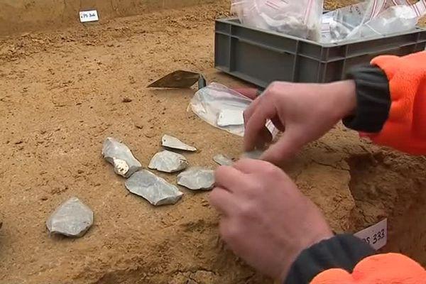 C'est sur le chantier d'une école au Cateau-Cambrésis que la découverte a été faite.