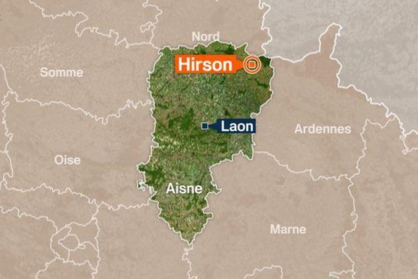 Hirson dans l'Aisne .