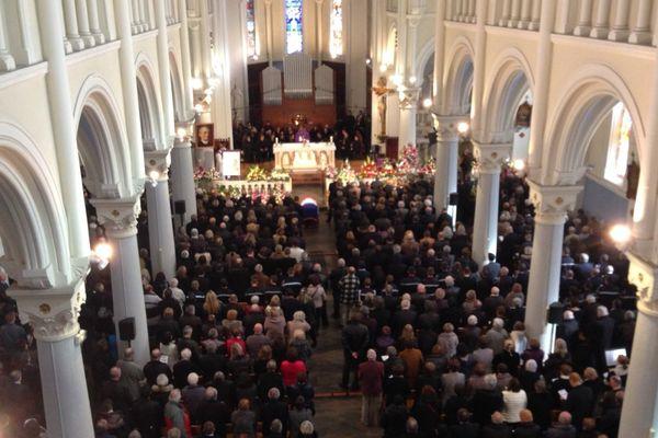 Des milliers de personnes ont assisté aux obsèques de l'ancien maire de La Mure en l'église Notre Dame