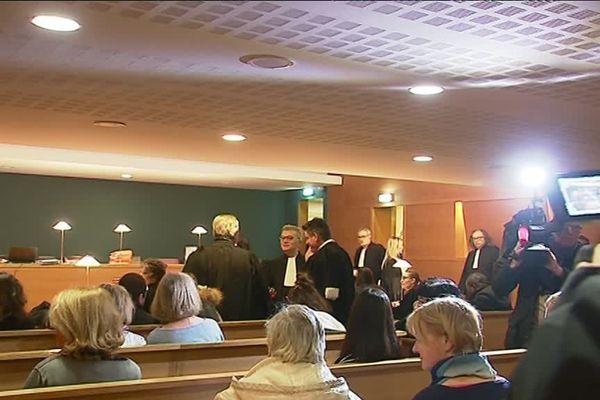 Au tribunal d'instance de Lyon, ce mardi 19 décembre 2017