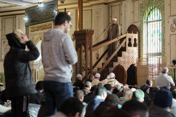 Photo d'illustration d'une mosquée à Bruxelles.