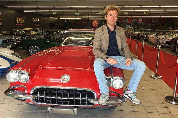 Paul Ancelin importe principalement ses voitures des Etats Unis.