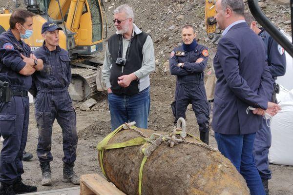 La bombe de 500 kilos a été désamorcée. Elle sera détruite dans un centre spécialisé du Grand Est.