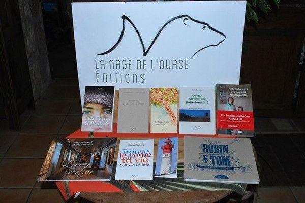 """La maison d'édition de """"La nage de l'Ourse"""" a été créée en 2017 à Surgères"""