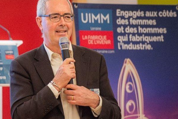 Hervé Bauduin. Président UIMM Lorraine