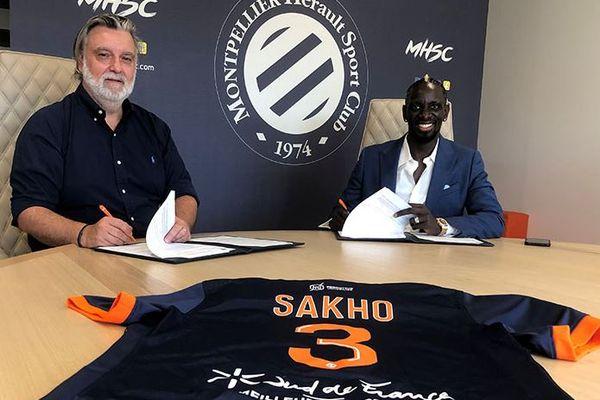 Montpellier attire dans ses filets l'ex-défenseur des Bleus Mamadou Sakho - 27 juillet 2021.