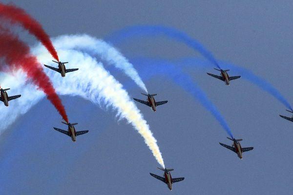 La patrouille de France est attendue pour ce meeting aérien, image d'illustration.