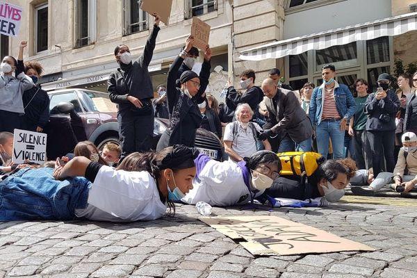 La manifestation à Metz contre les violences policières samedi 13 juin 2020